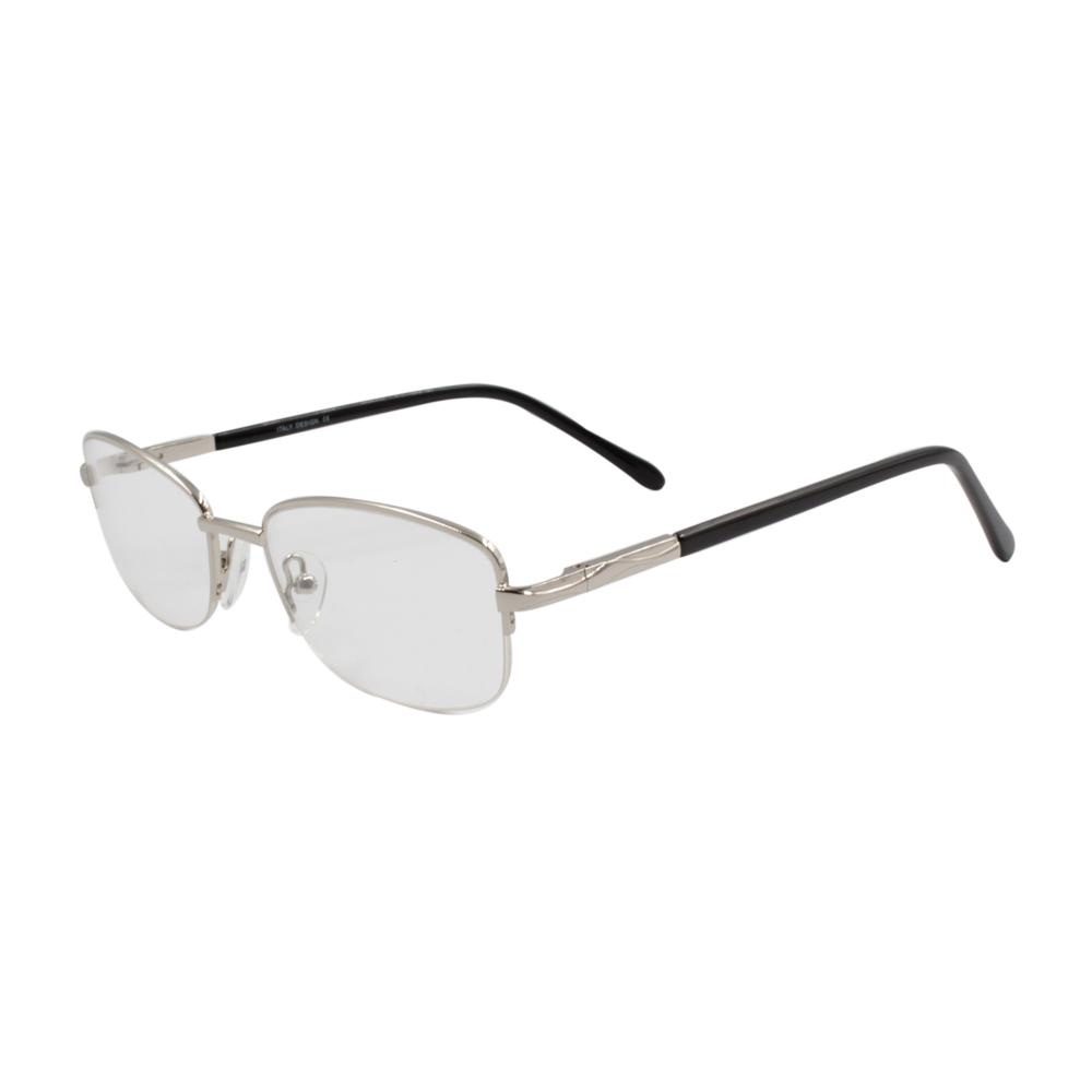 Armação para Óculos de Grau Masculino HG2209-C4 Prata