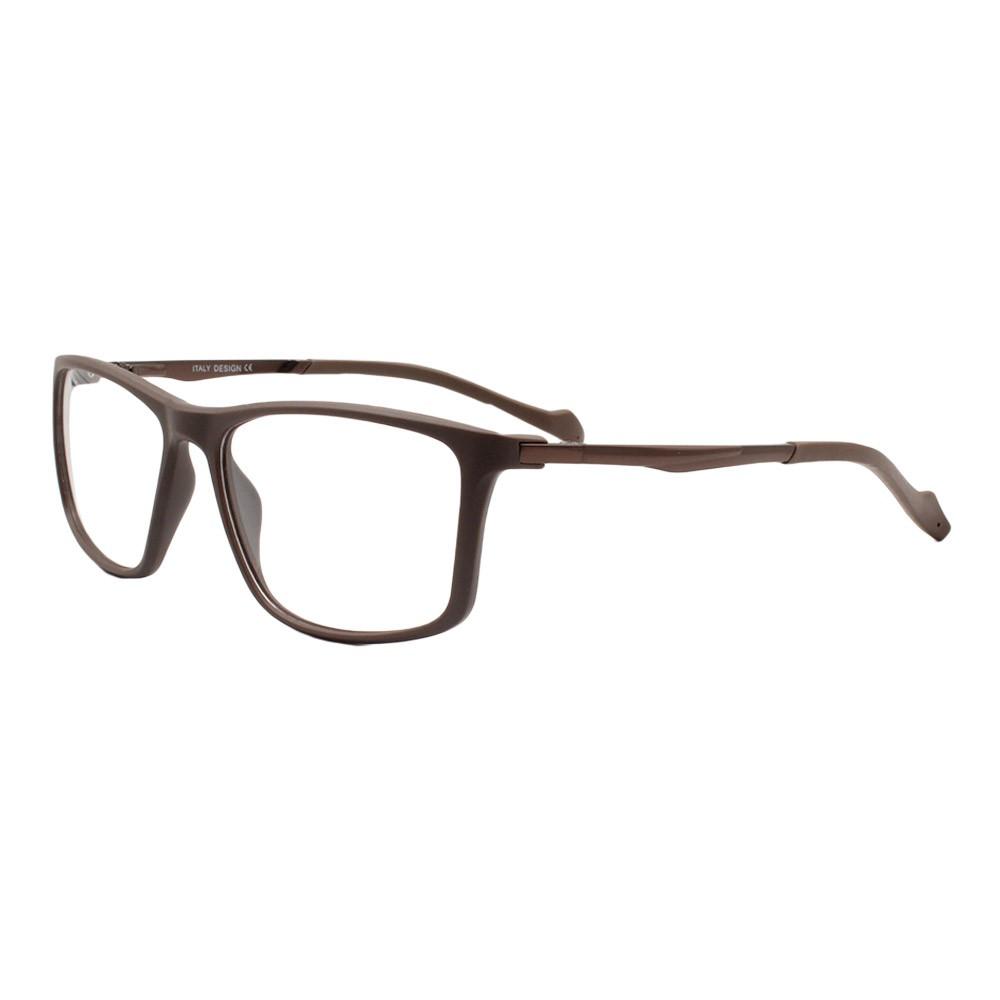 Armação para Óculos de Grau Masculino HY99047 Marrom
