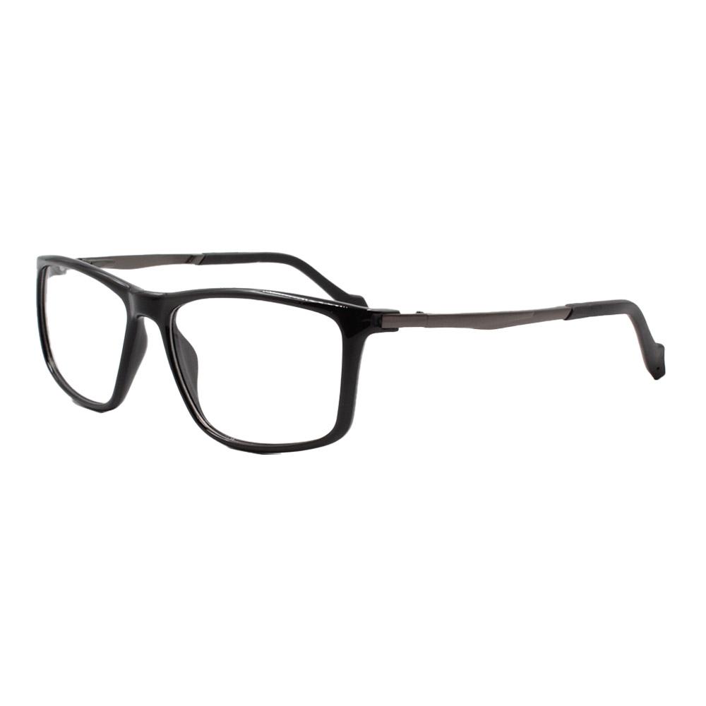 Armação para Óculos de Grau Masculino ISA1033 Preta
