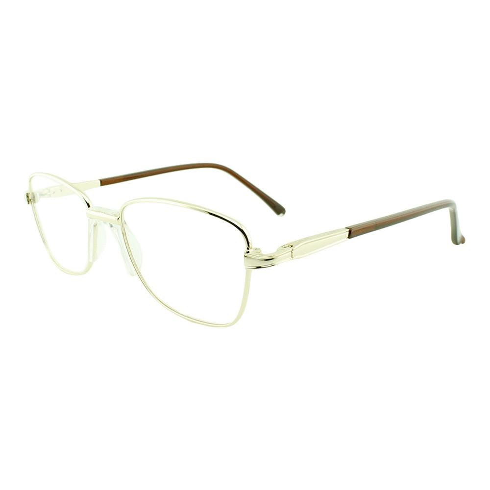 Armação para Óculos de Grau Masculino M2503 Dourada