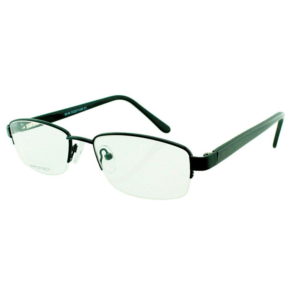 Armação para Óculos de Grau Masculino M44 Preta