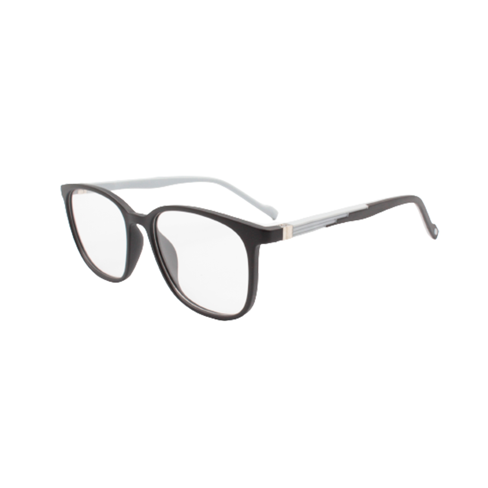 Armação para Óculos de Grau Masculino TR74-C4 Preta