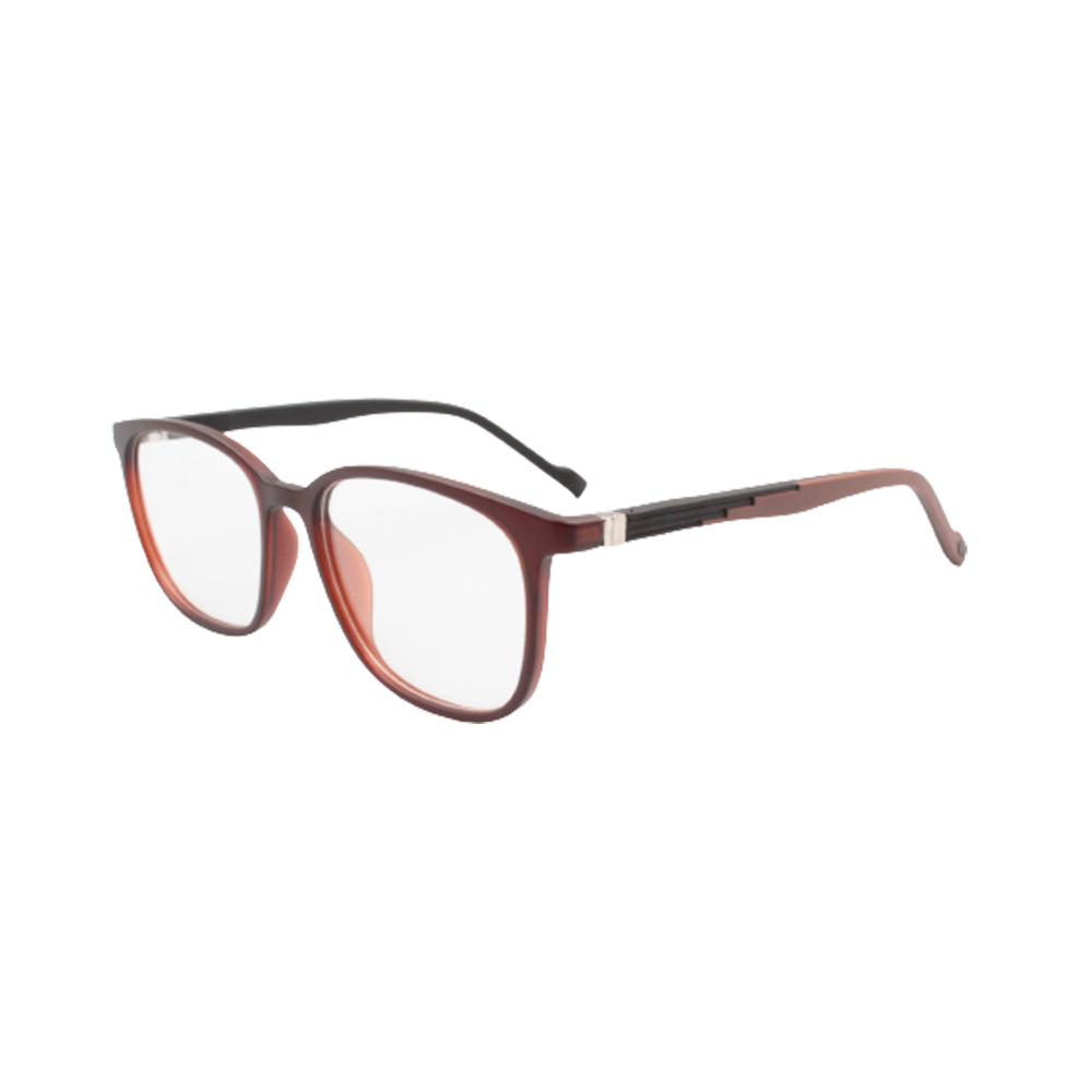 Armação para Óculos de Grau Masculino TR74-C6 Marrom