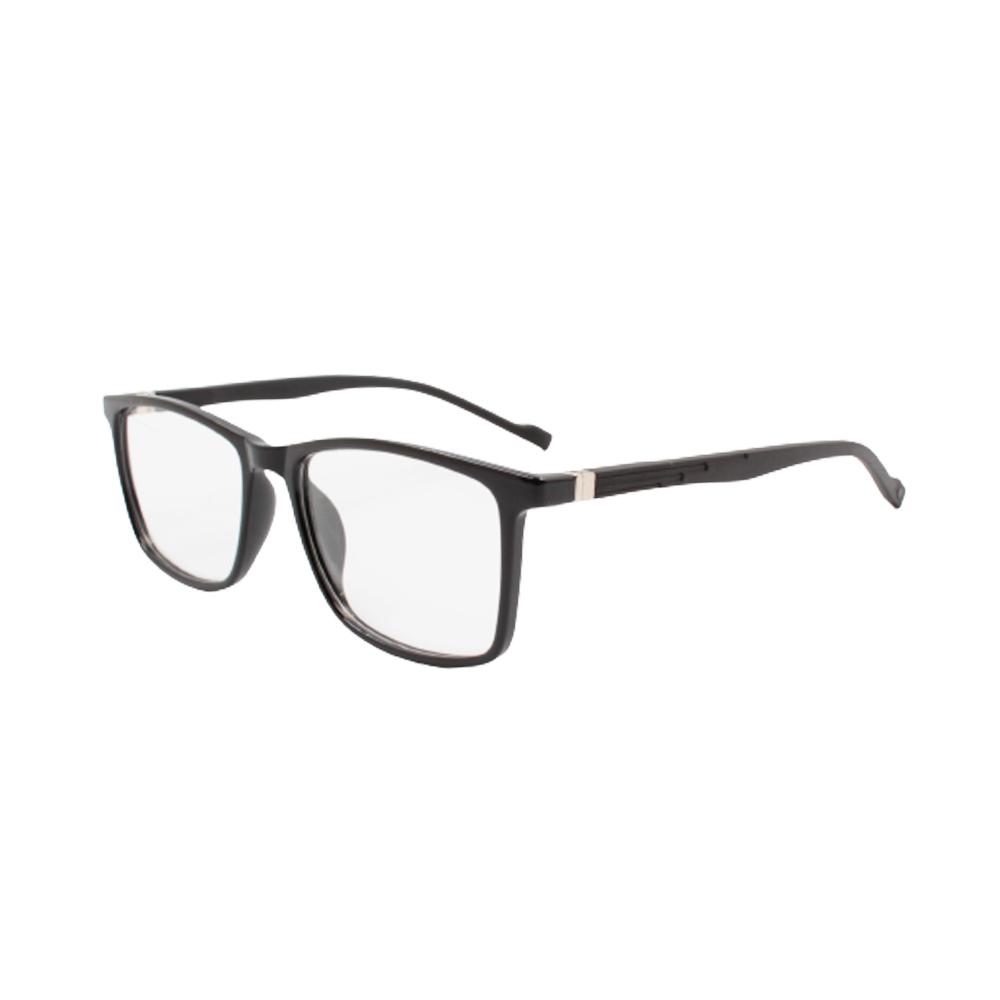 Armação para Óculos de Grau Masculino TR76-C2 Preta