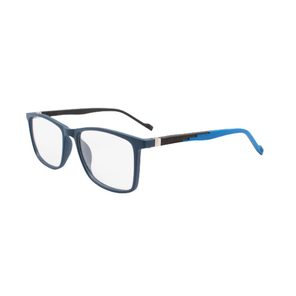 Armação para Óculos de Grau Masculino TR76-C4 Azul