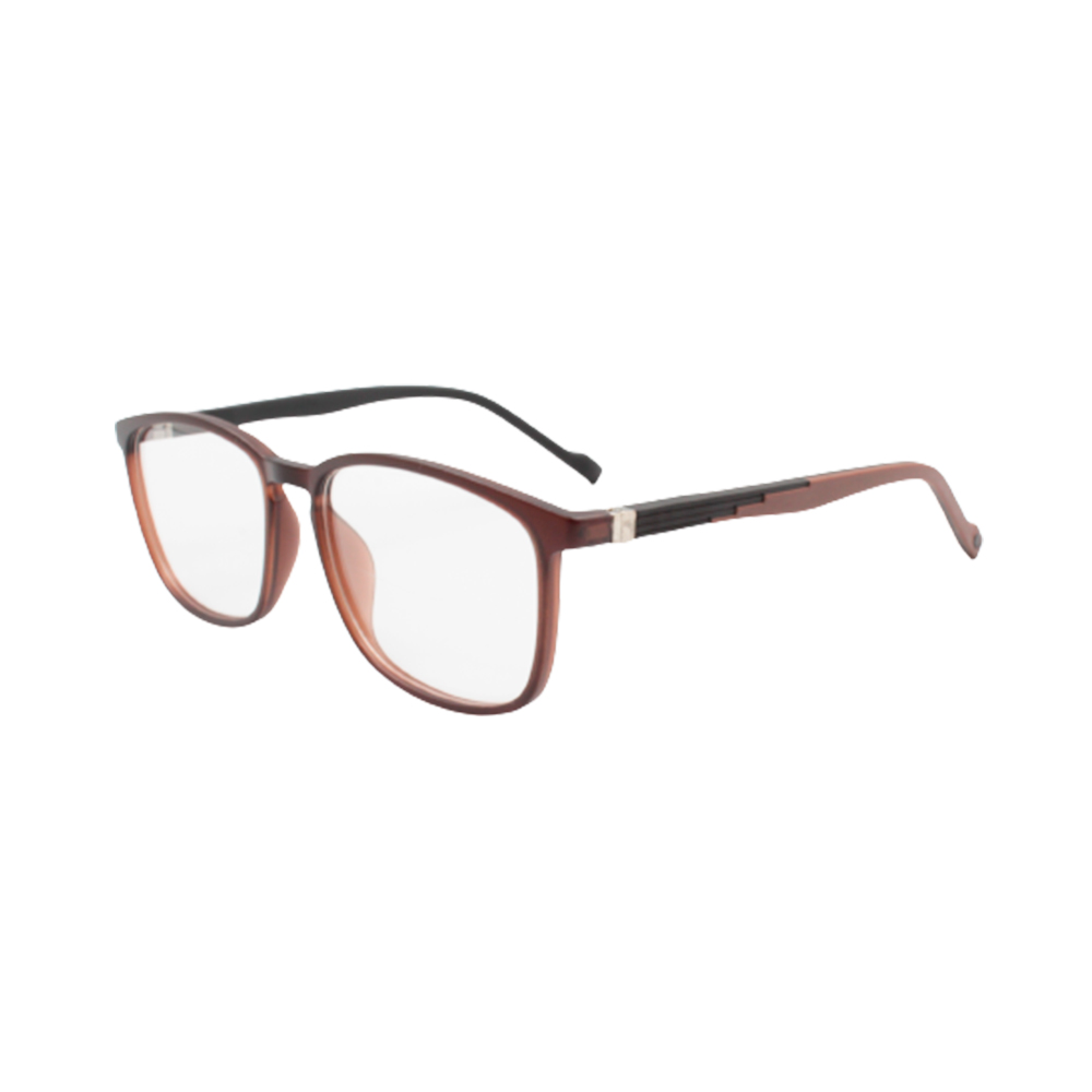 Armação para Óculos de Grau Masculino TR78-C6 Marrom