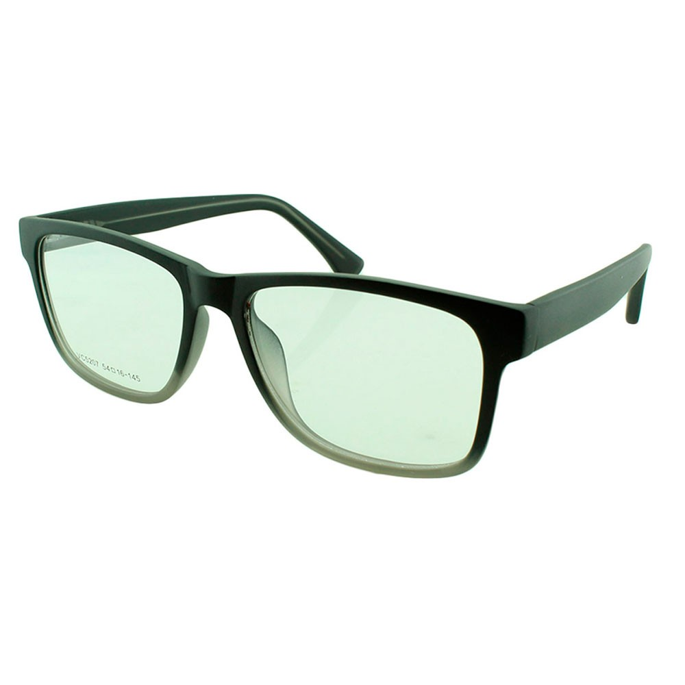 Armação para Óculos de Grau Masculino VC5207 Preta e Cinza Degradê