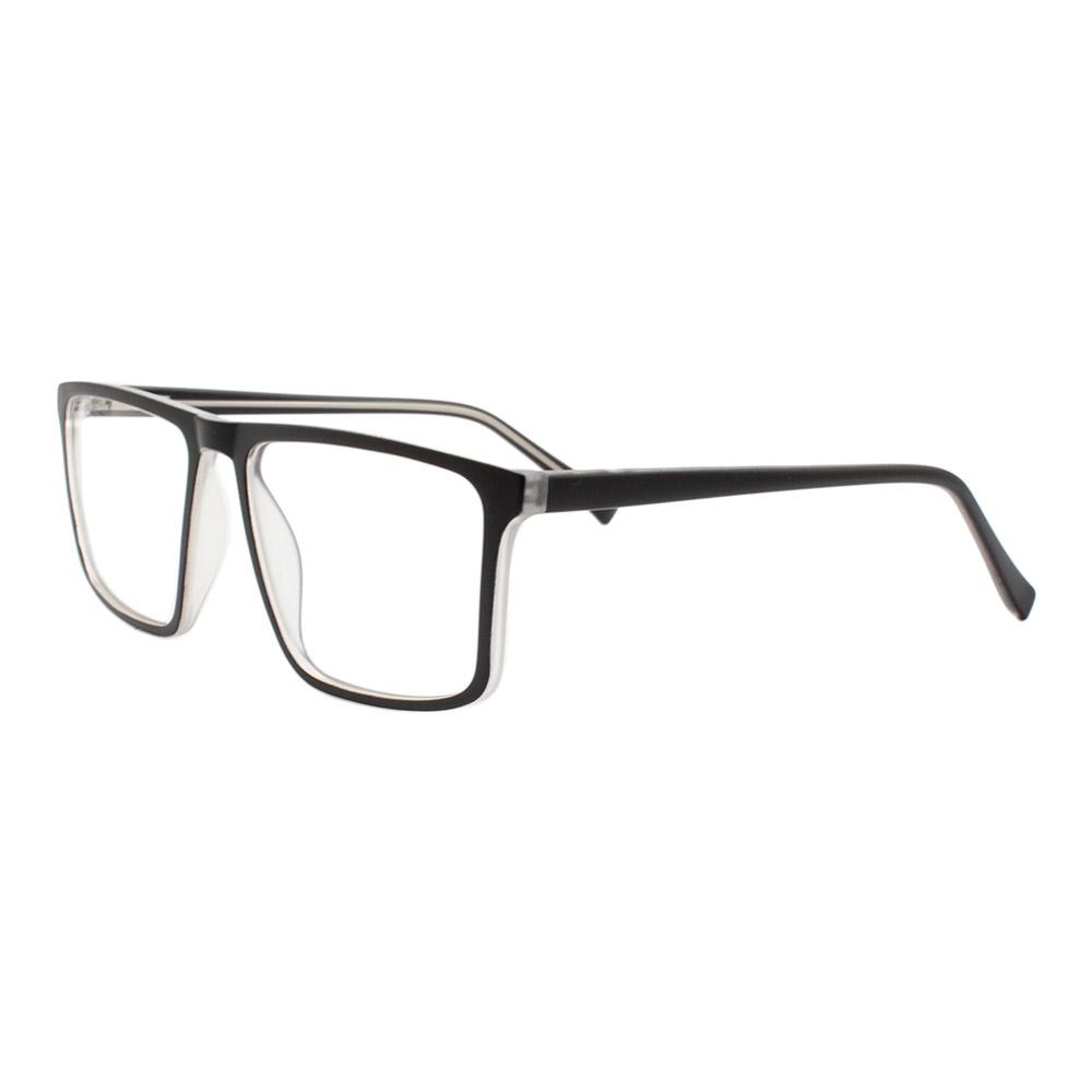 Armação para Óculos de Grau Masculino YF8043 Preta