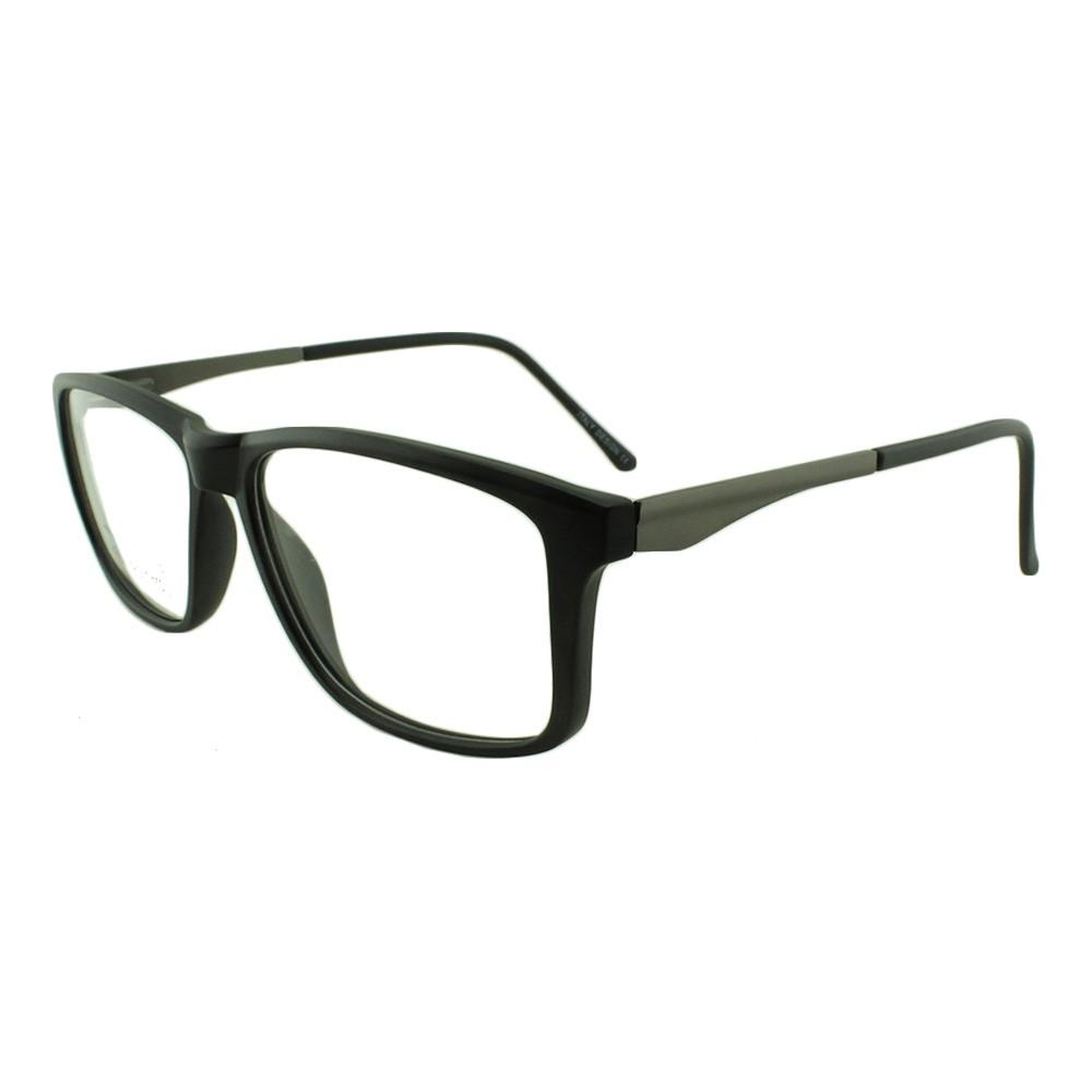 Armação para Óculos de Grau Masculino YY1142 Preta