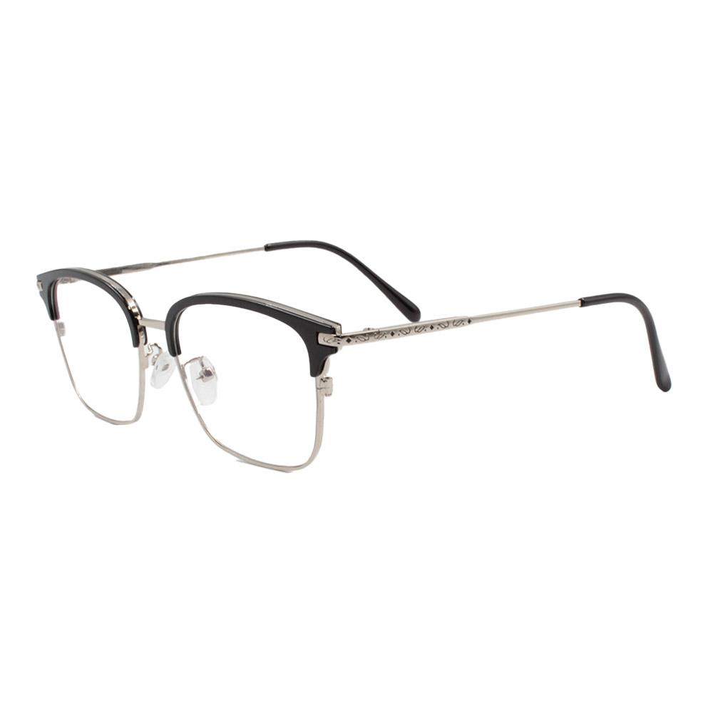 Armação para Óculos de Grau Unissex 18055 Prata