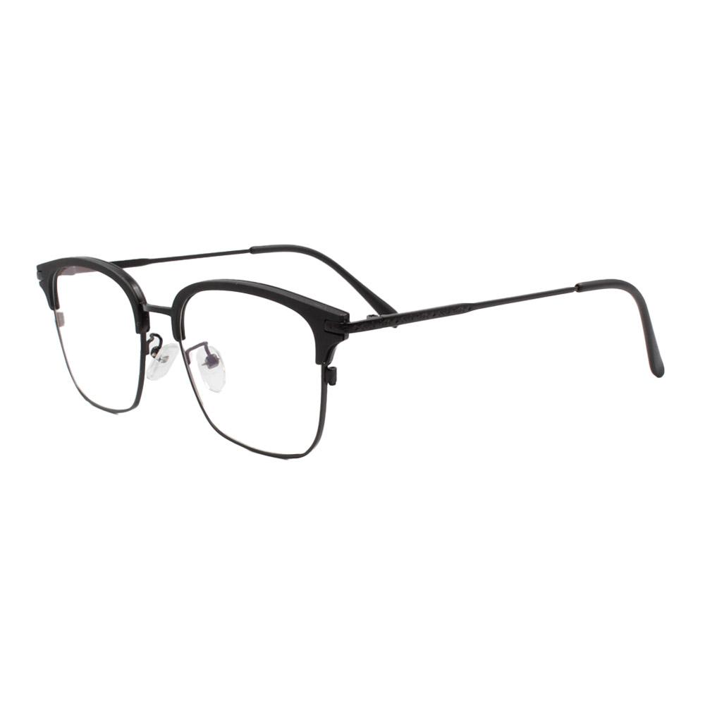 Armação para Óculos de Grau Unissex 18055 Preta