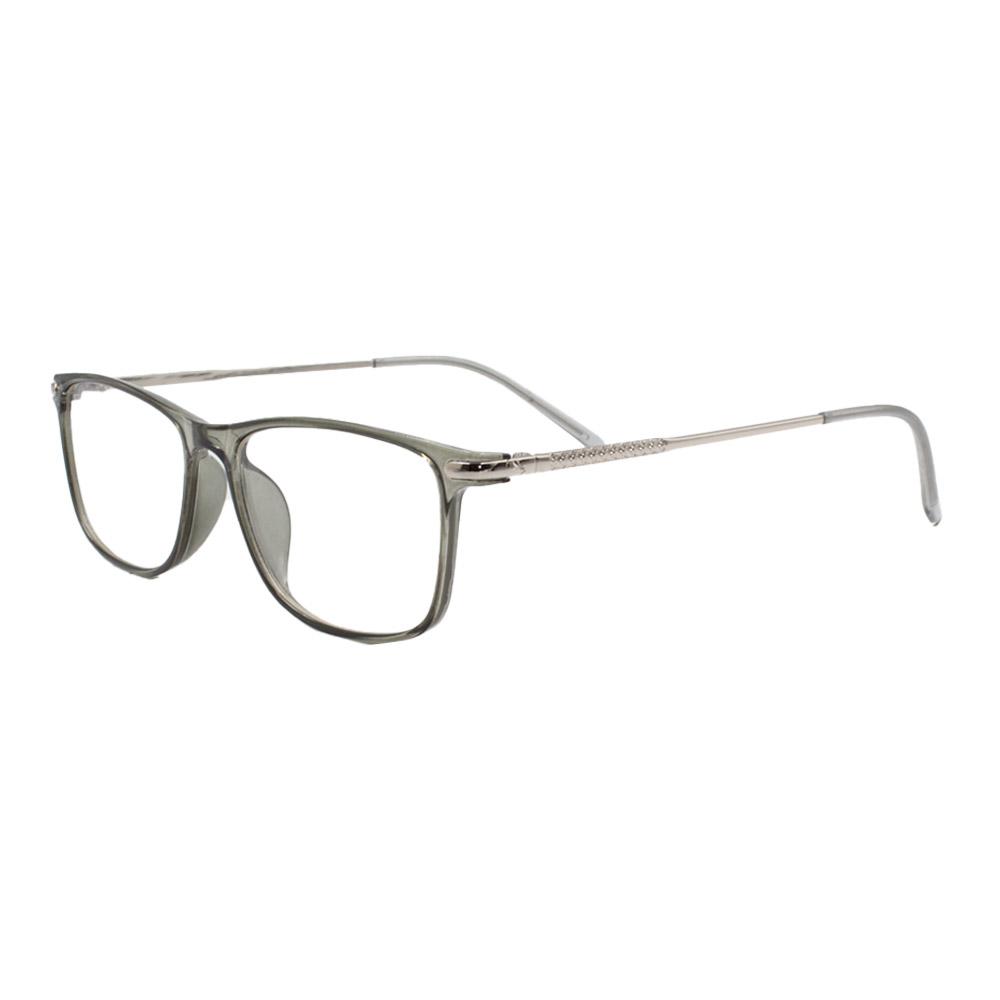 Armação para Óculos de Grau Unissex 18099 Fumê
