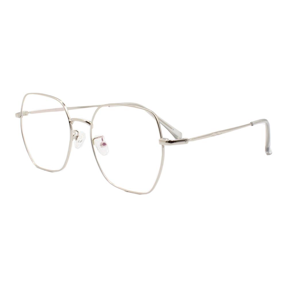 Armação para Óculos de Grau Unissex 2109 Prata