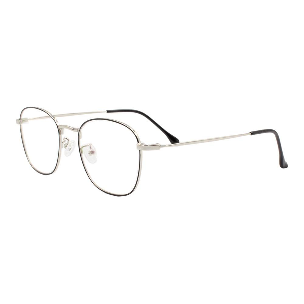 Armação para Óculos de Grau Unissex 2120 Preta e Prata