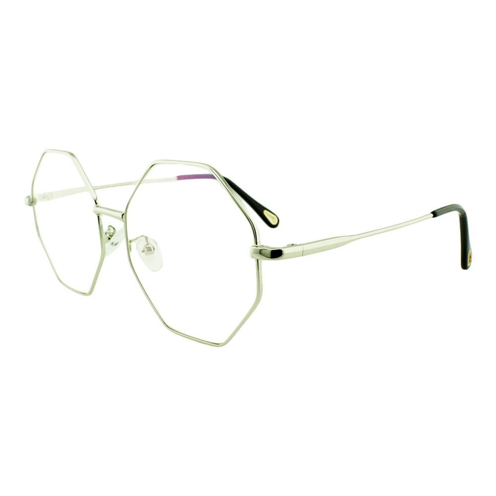 Armação para Óculos de Grau Unissex 2551 Prata