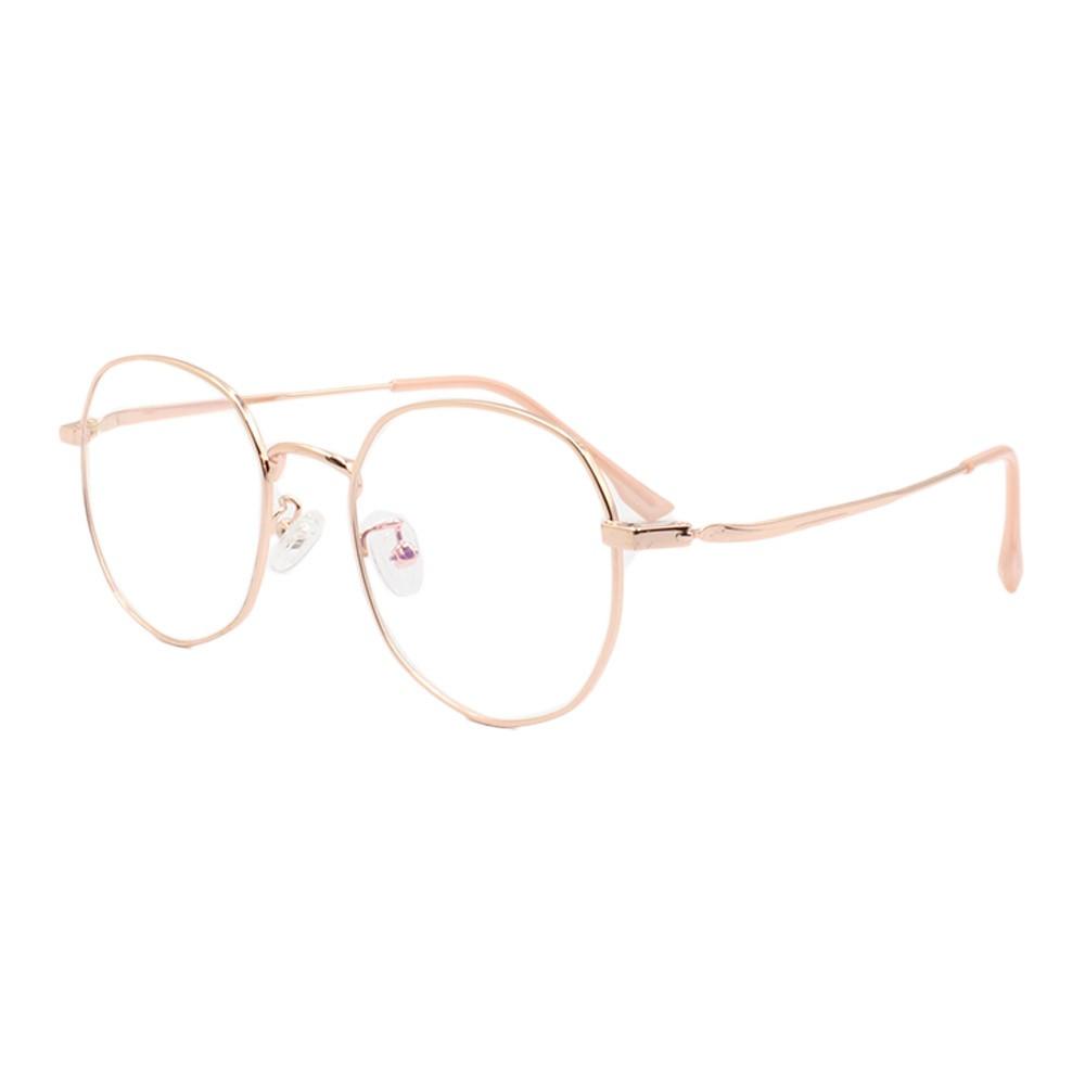 Armação para Óculos de Grau Unissex 285 Dourada