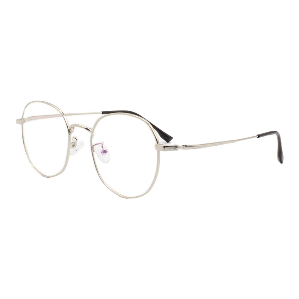 Armação para Óculos de Grau Unissex 285 Prata