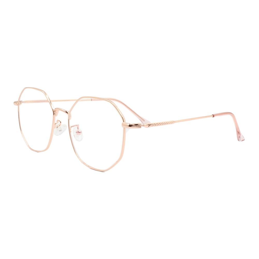 Armação para Óculos de Grau Unissex 291 Dourada