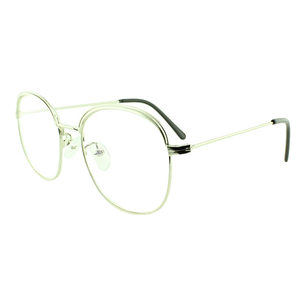 Armação para Óculos de Grau Unissex 3112 Prata
