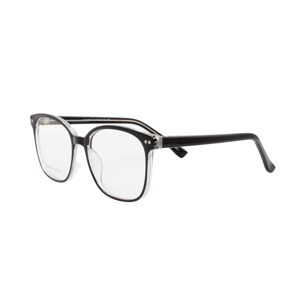 Armação para Óculos de Grau Unissex 48 Preta