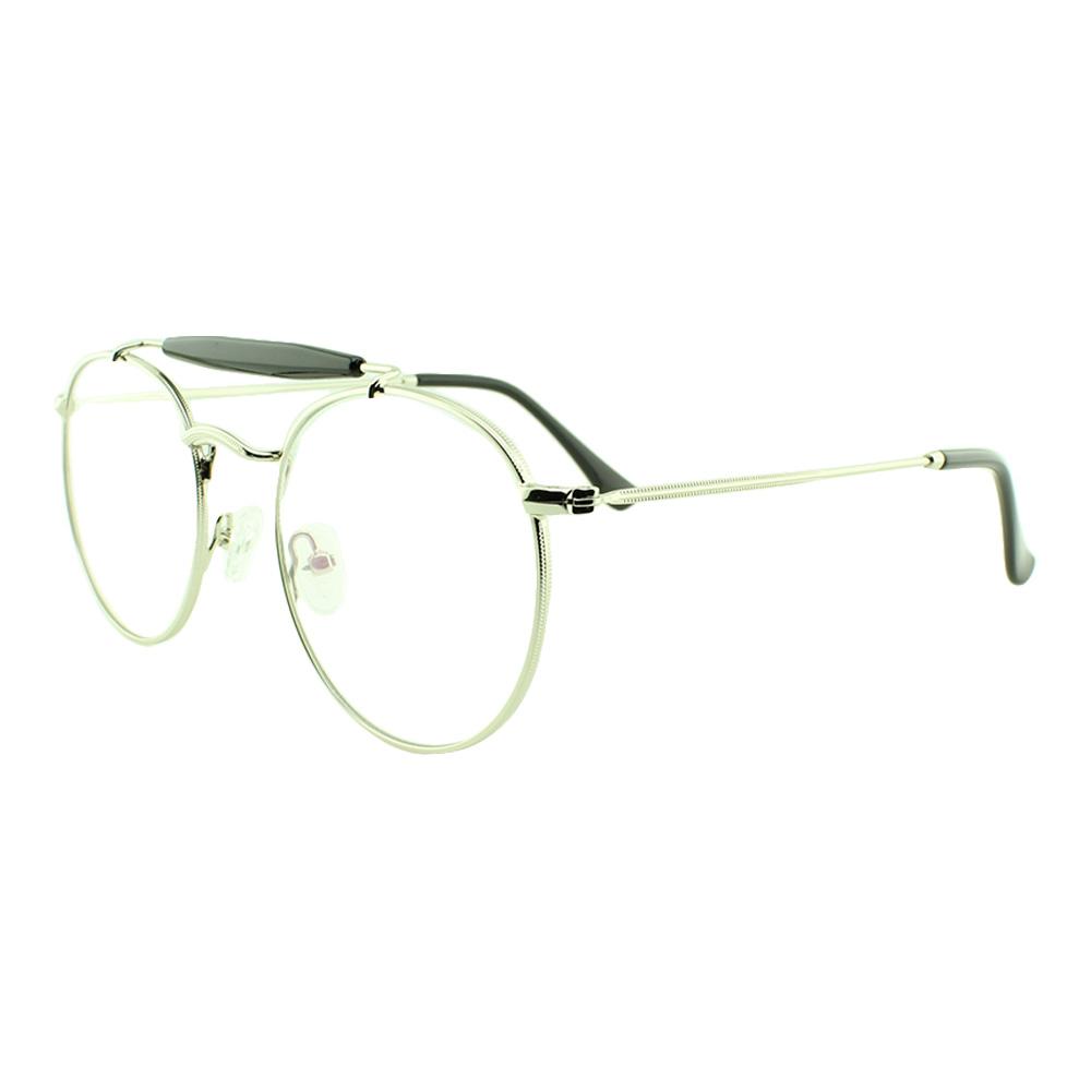 Armação para Óculos de Grau Unissex 5965 Prata