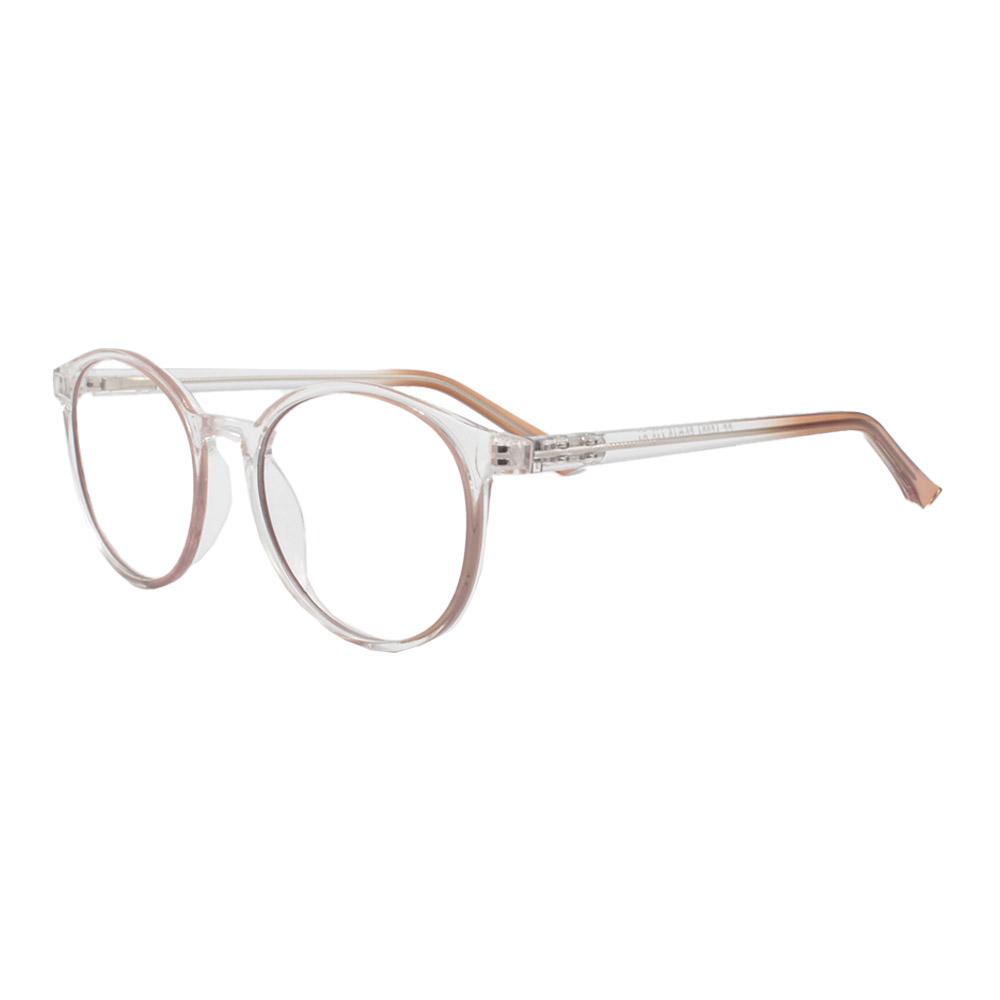 Armação para Óculos de Grau Unissex CFA5024 Transparente e Nude