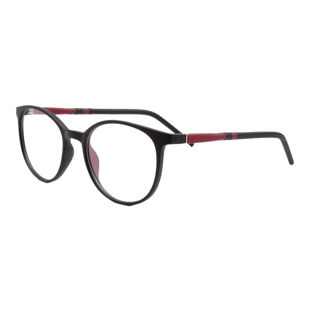 Armação para Óculos de Grau Unissex ISA77004 Preta