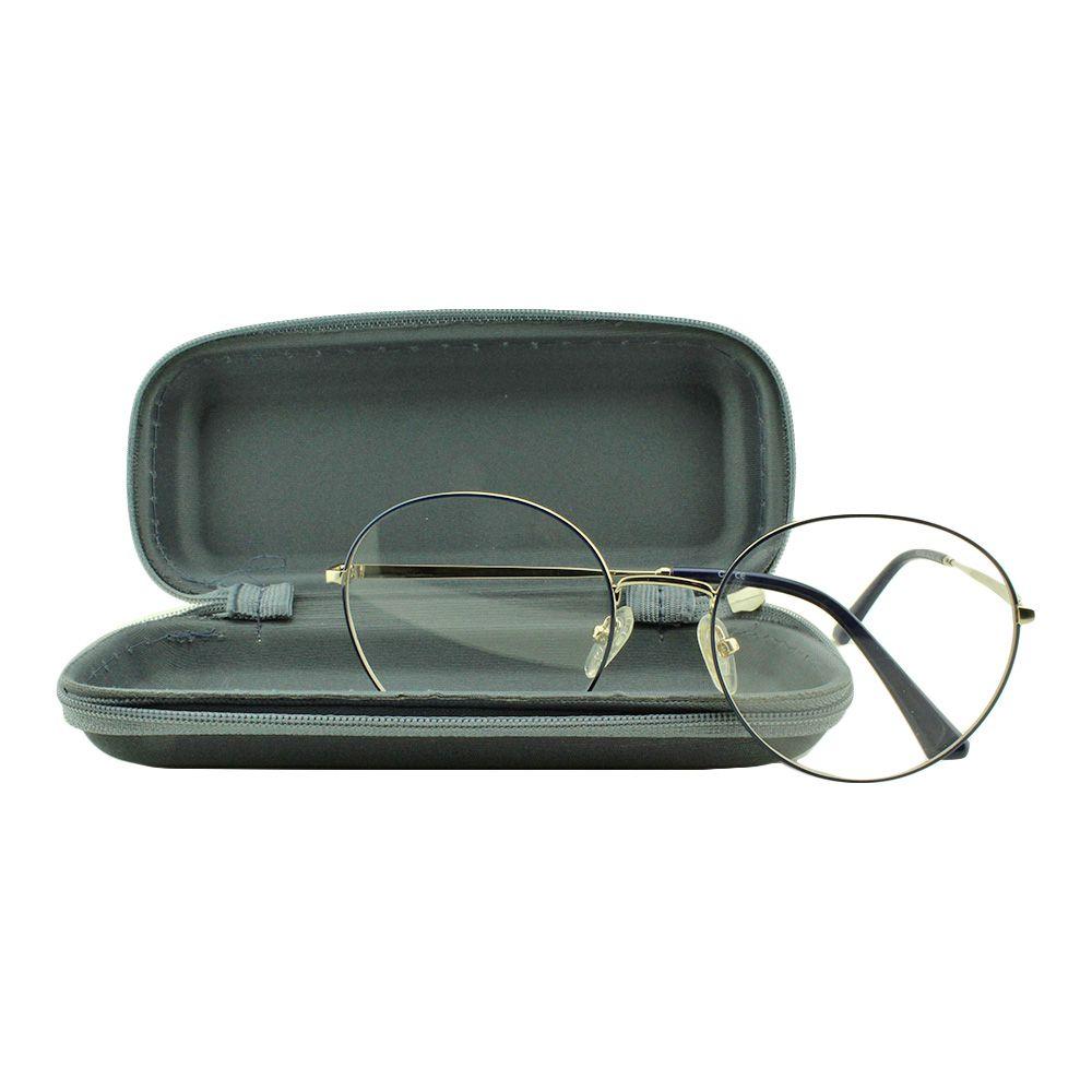 Armação para Óculos de Grau Unissex MJ3934 Azul com Estojo Vianzo