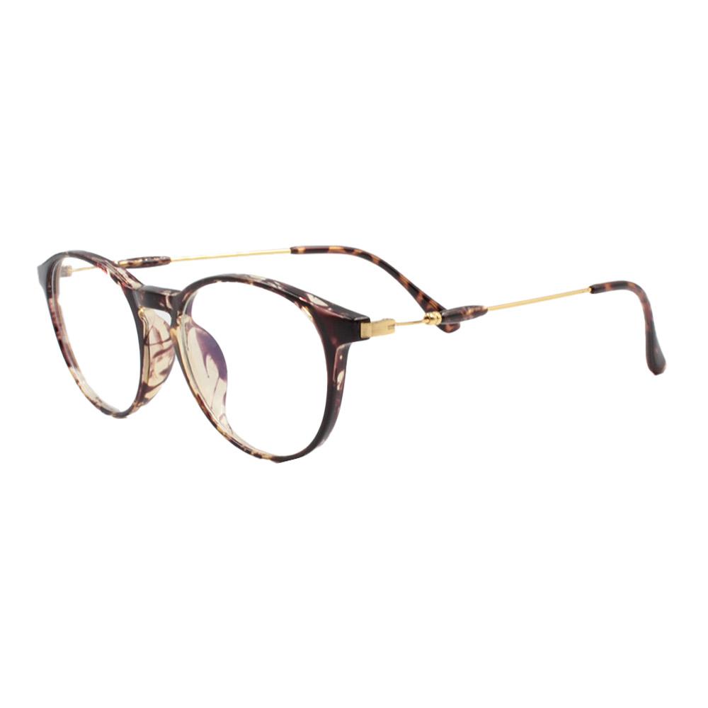 Armação para Óculos de Grau Unissex TR18038 Mesclada