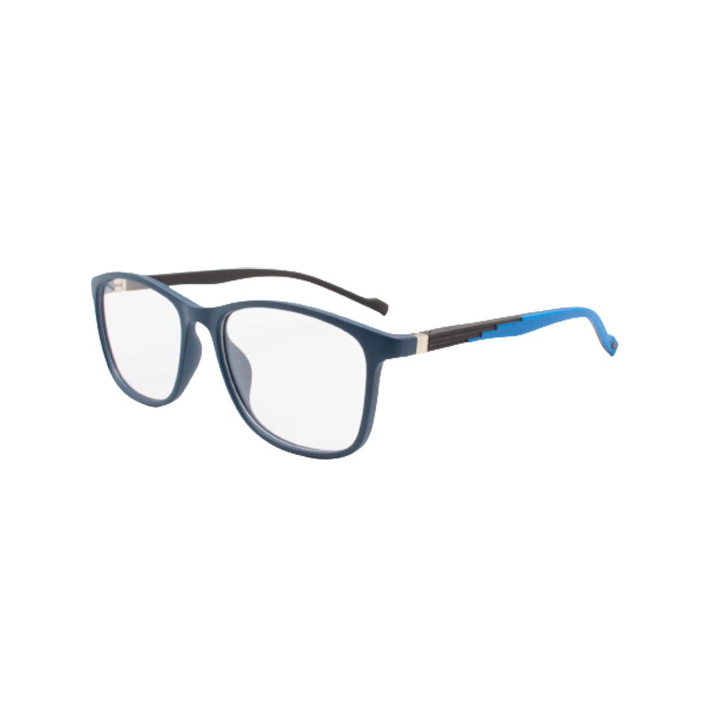 Armação para Óculos de Grau Unissex TR71-C4 Azul