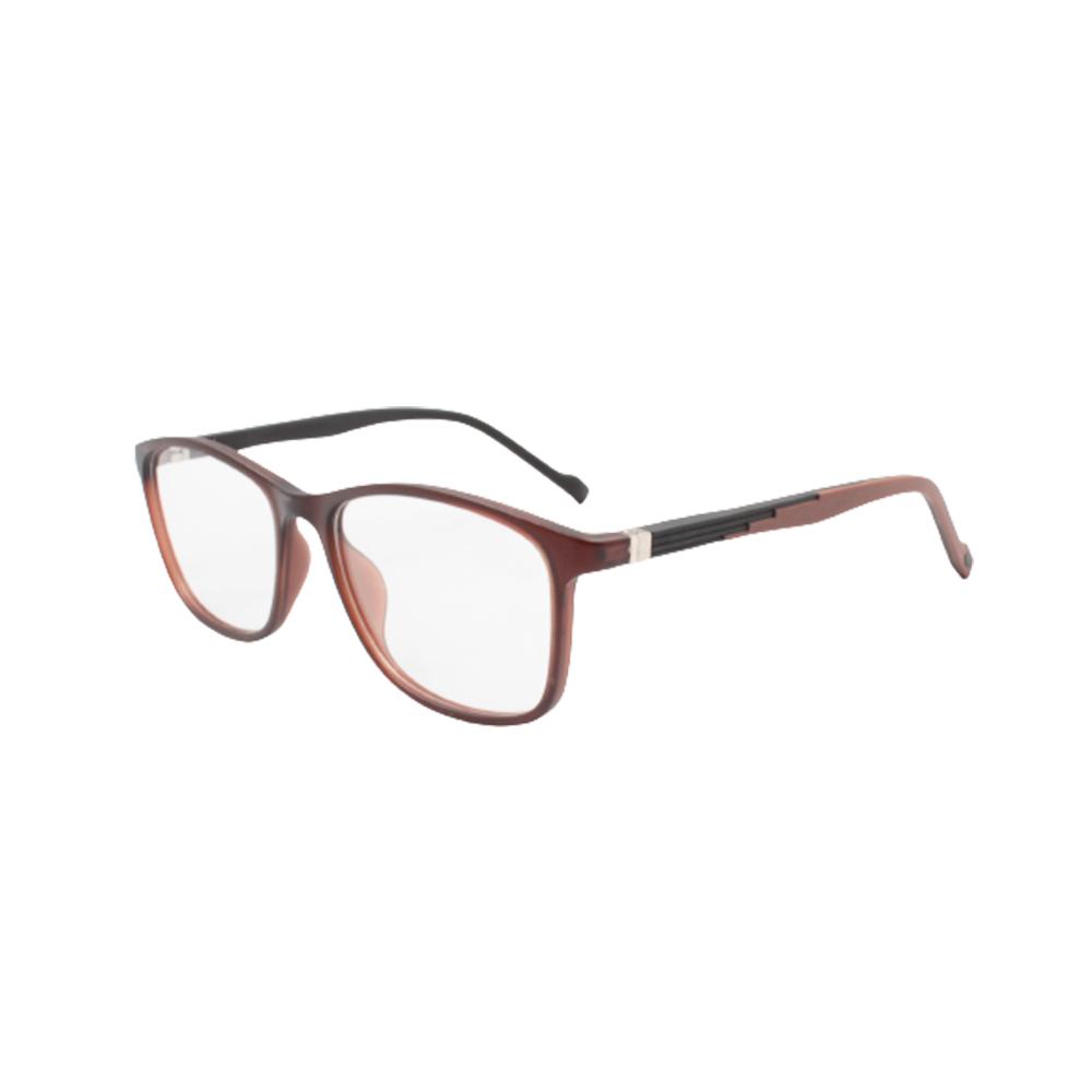 Armação para Óculos de Grau Unissex TR71-C6 Marrom