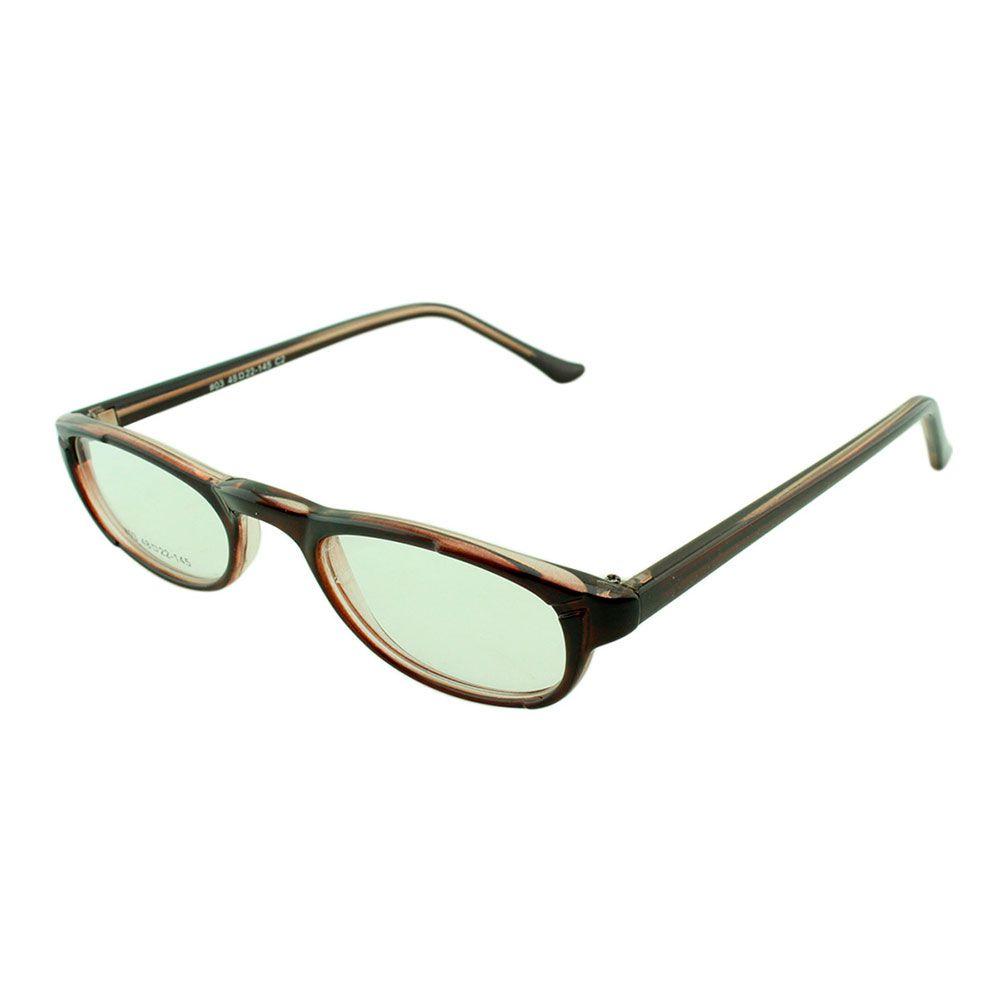 Armação para Óculos de Leitura 03A Marrom