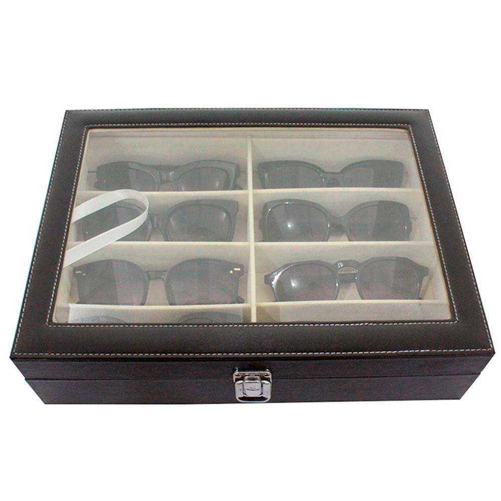 Caixa Expositora para 8 Óculos BRX9955 Preta