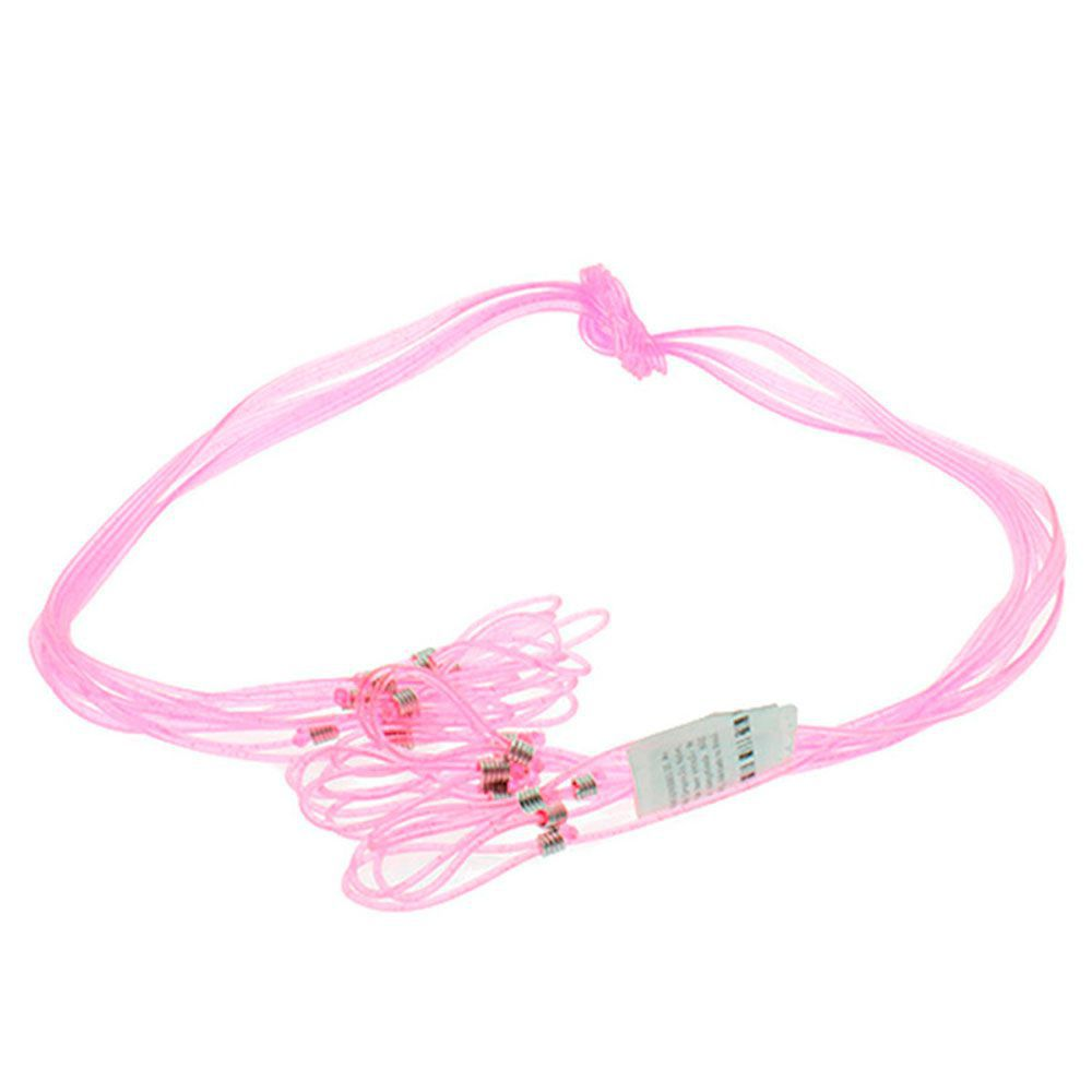 Cordão para Óculos em Silicone FC Rosa com Glitter com 12 Unidades