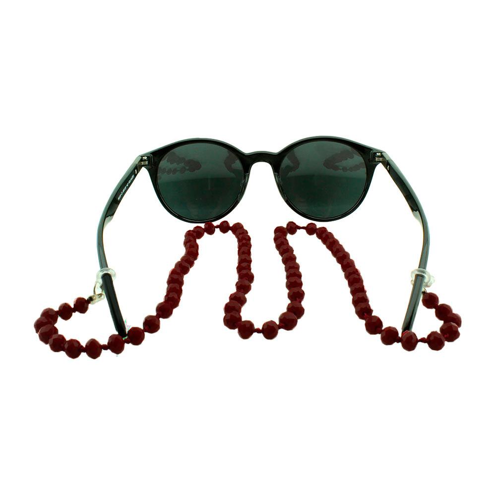 Cordão para Óculos em Strass 020V Vinho - Unidade
