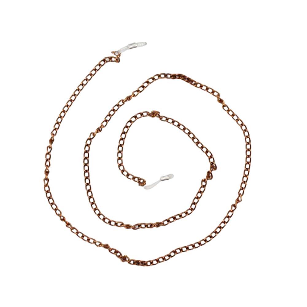 Correntinha para Óculos em Metal 020FINA Bronze - Unidade