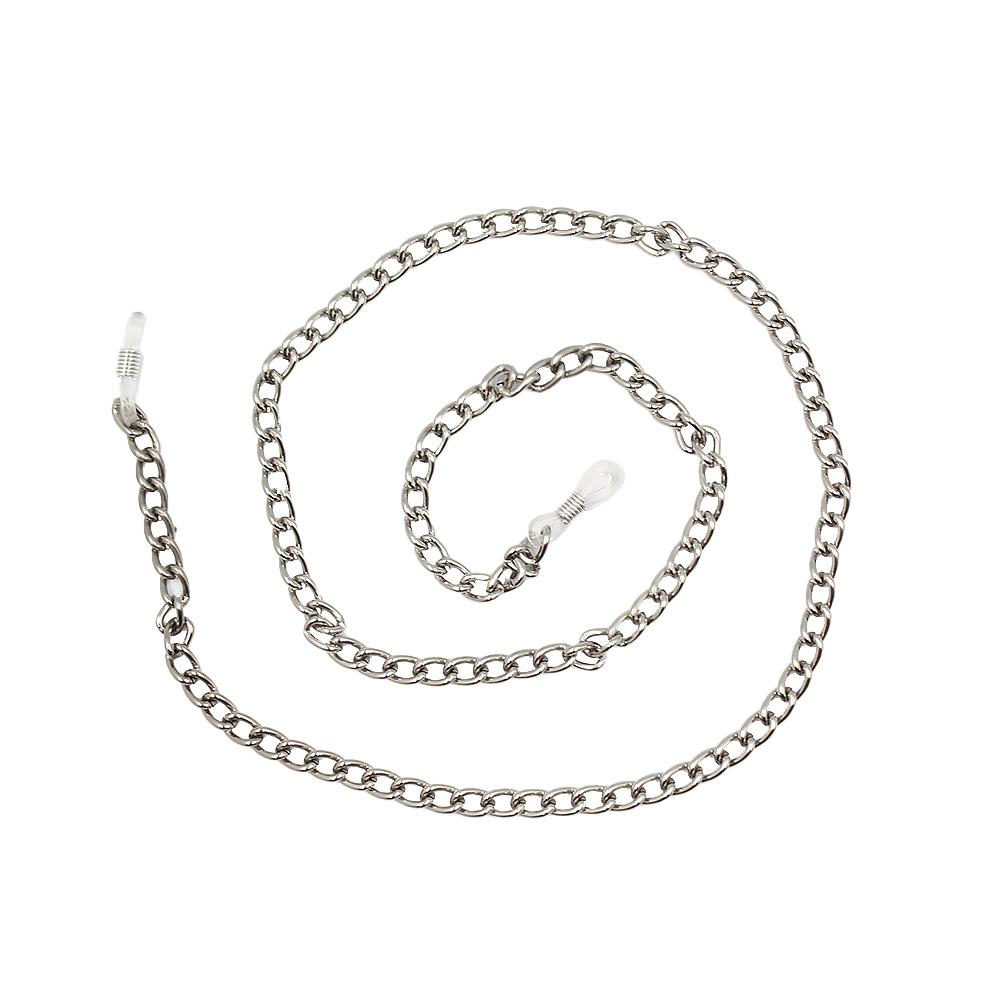 Correntinha para Óculos em Metal 020GROSSA Prata - Unidade