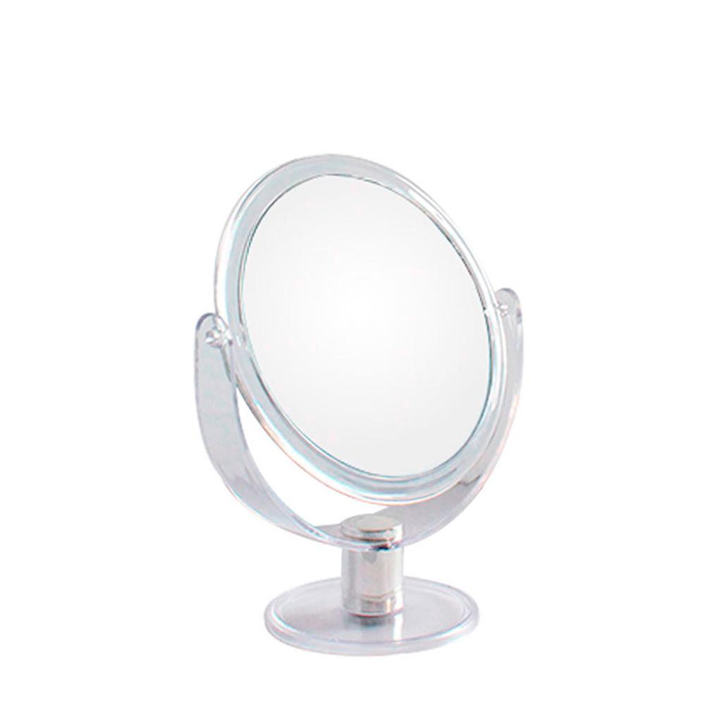 Espelho de Aumento 5X Dupla Face com Moldura de Plástico JZ005