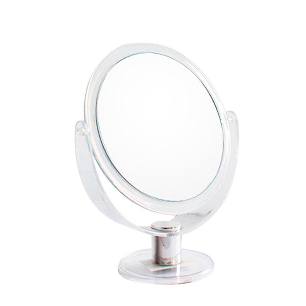 Espelho de Aumento 5X Dupla Face com Moldura de Plástico JZ006