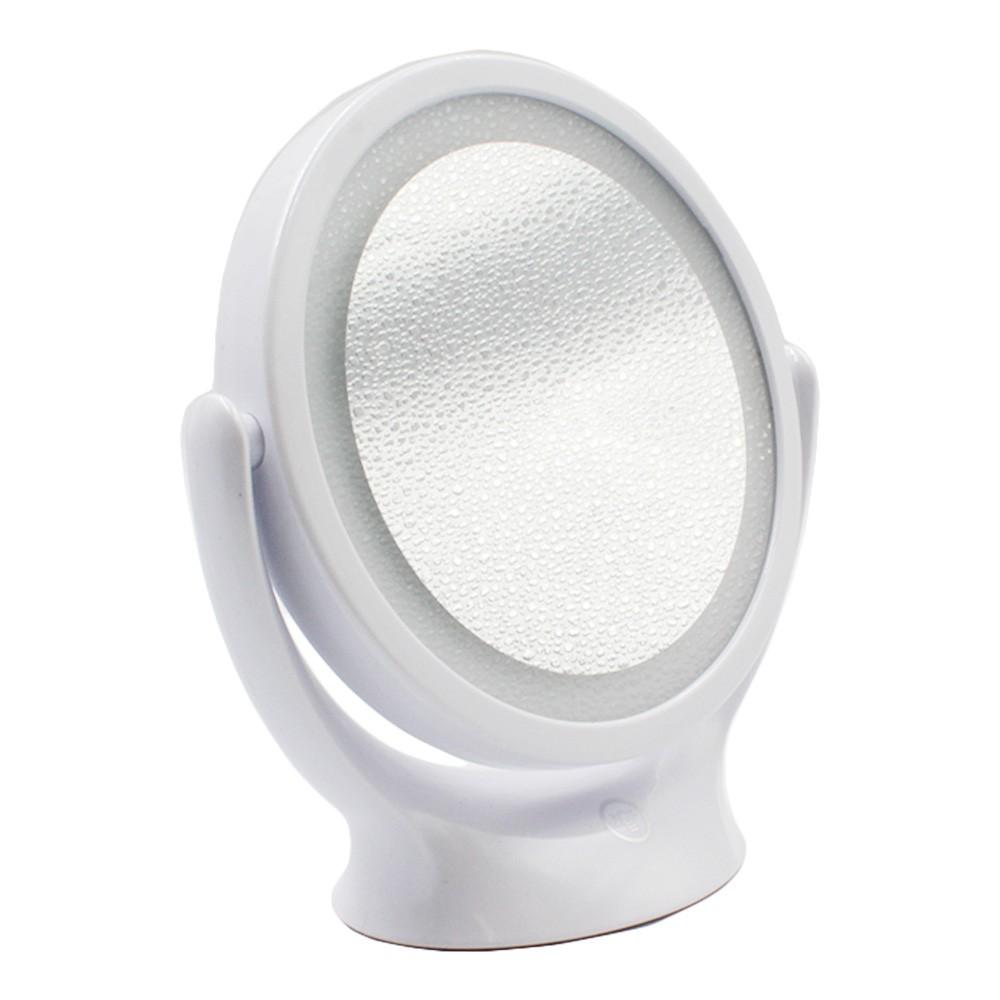 Espelho de Aumento Dupla-Face com LED 2636 Branco