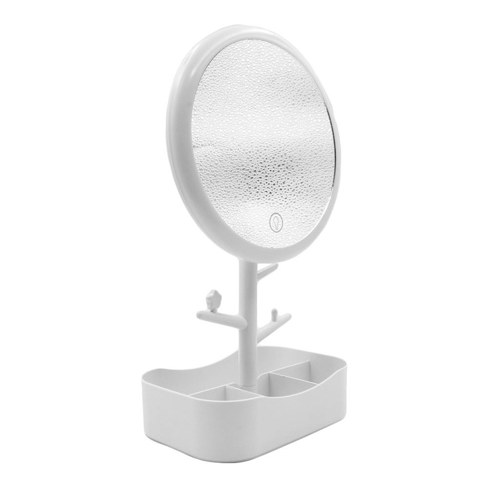 Espelho Redondo com LED Q1527 Branco