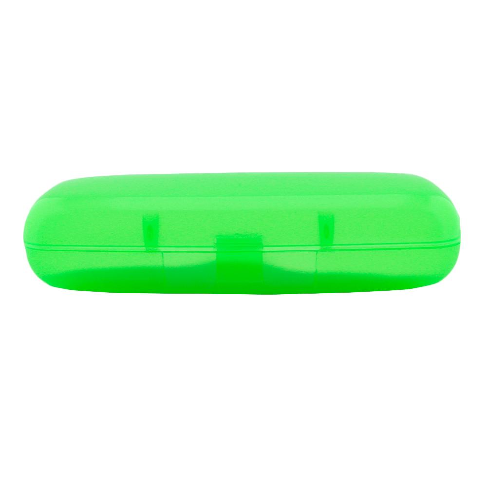 Estojo para Óculos Receituário com Forro em EVA ET120 Verde