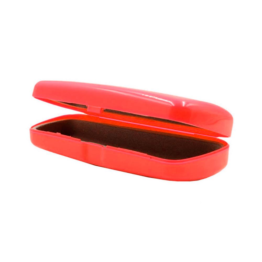 Estojo para Óculos Receituário com Forro Flocado 01E Vermelho