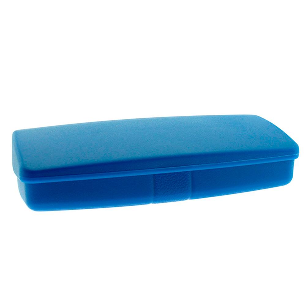 Estojo para Óculos Receituário com Forro Flocado L10ATUAL Azul