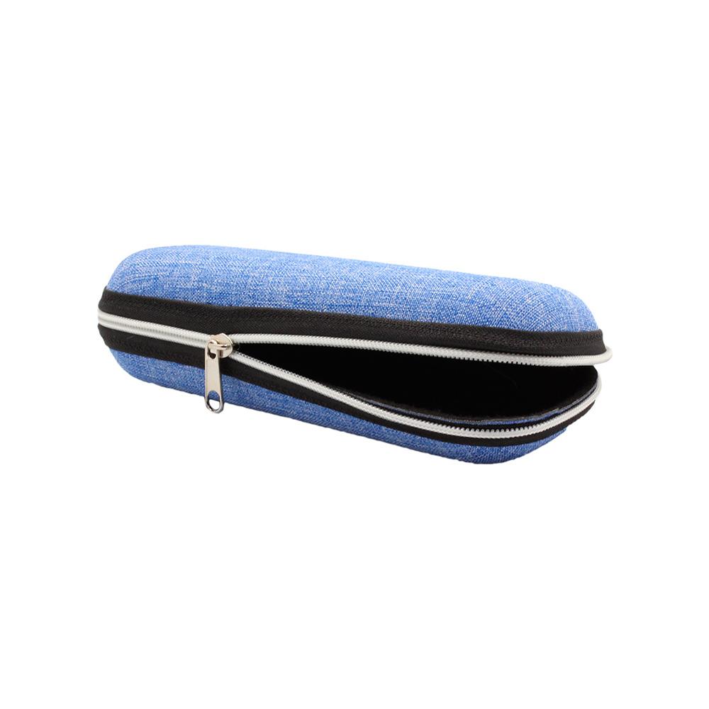 Estojo para Óculos Receituário com Zíper 09R Azul