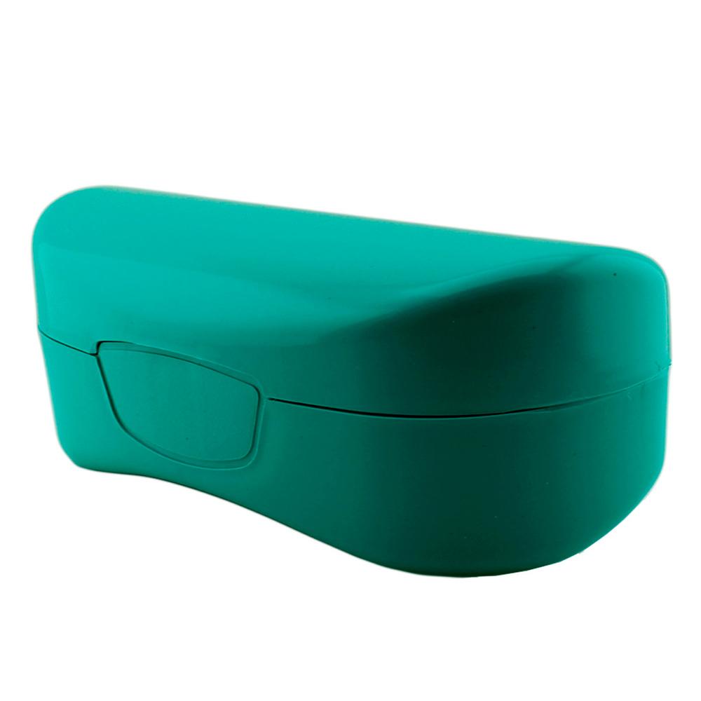 Estojo para Óculos Solar com Forro Flocado ECL02 Turquesa