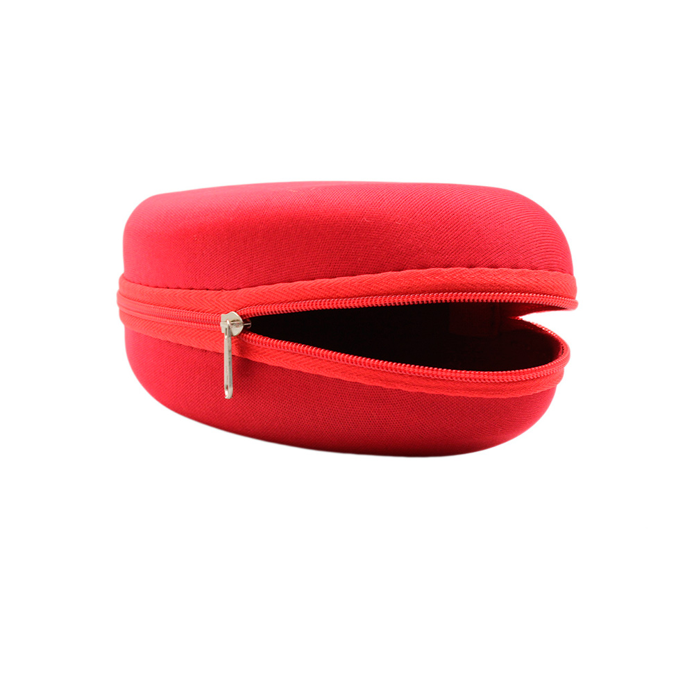 Estojo para Óculos Solar com Zíper EVAM01 Vermelho