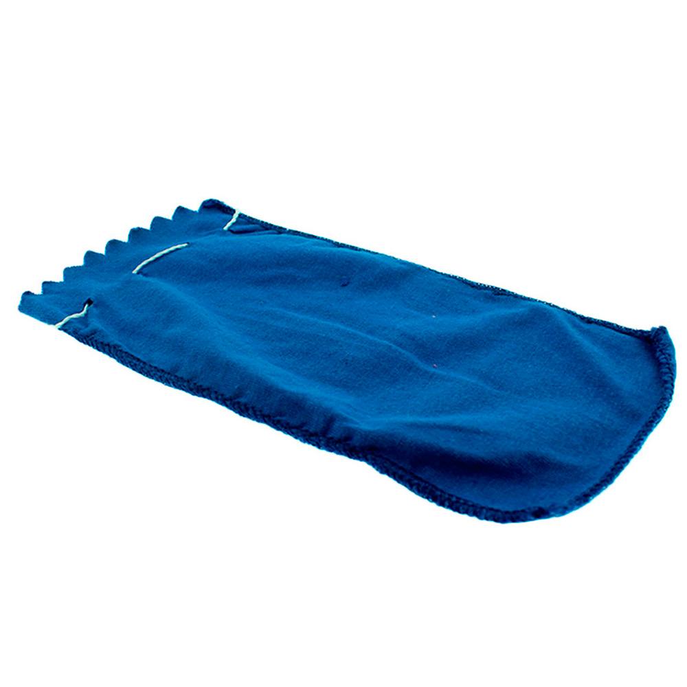 Estojo Protetor para Óculos em Malha Picotada com Cordão EMPE Azul com 12 Unidades