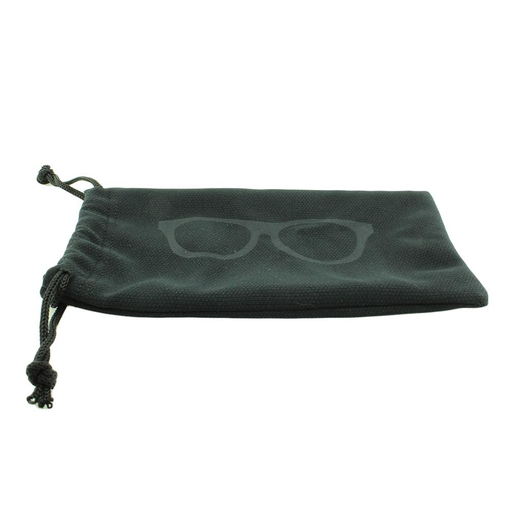 Estojo Protetor para Óculos em Poliéster com Regulador 012 Preto com 10 Unidades