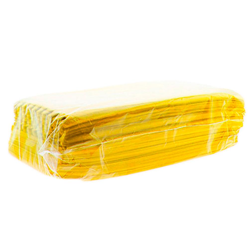 Estojo Protetor para Óculos em TNT PCTBPO Amarelo com 100 Unidades